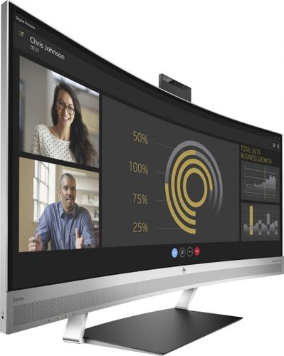 Monitor HP EliteDisplay S340c 34 cali Curved Ultra WQHD 3440x1440 HDMI DisplayPort V4G46AA na Arena.pl