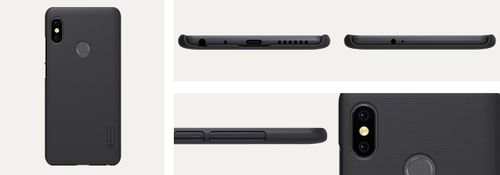 Nillkin Etui Frosted Xiaomi Redmi Note 5/PRO Czarne na Arena.pl