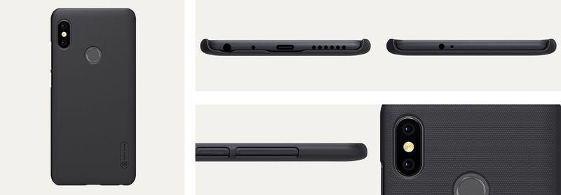 Nillkin Etui Frosted Xiaomi Redmi Note 5/PRO Czarne zdjęcie 8