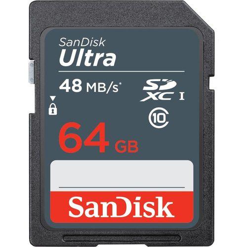 Karta pamięci SDXC SanDisk Ultra 64GB 48 MB/s class 10 UHS-I na Arena.pl