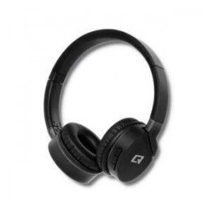 Słuchawki z mikrofonem Qoltec bezprzewodowe nauszne | BT |Super Bass | Czarne na Arena.pl