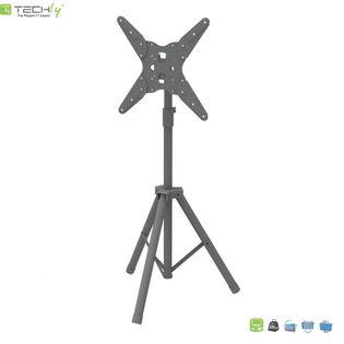 """Stojak podłogowy LCD/LED Techly Tripod 17""""-65"""" 35kg przenośny"""