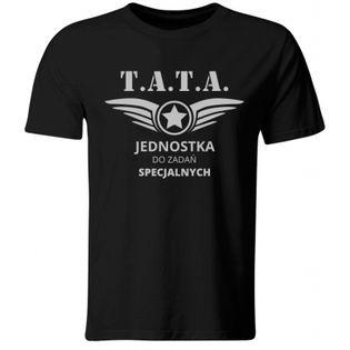 Koszulka Tata do Zadań Specjalnych, prezent na Dzień Ojca, XL