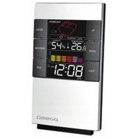 Stacja pogodowa cyfrowa kolor LCD zegar higrometr
