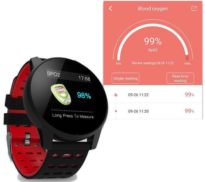 Smartwatch Zegarek Smartband Krokomierz Pulsometr T274 zdjęcie 6