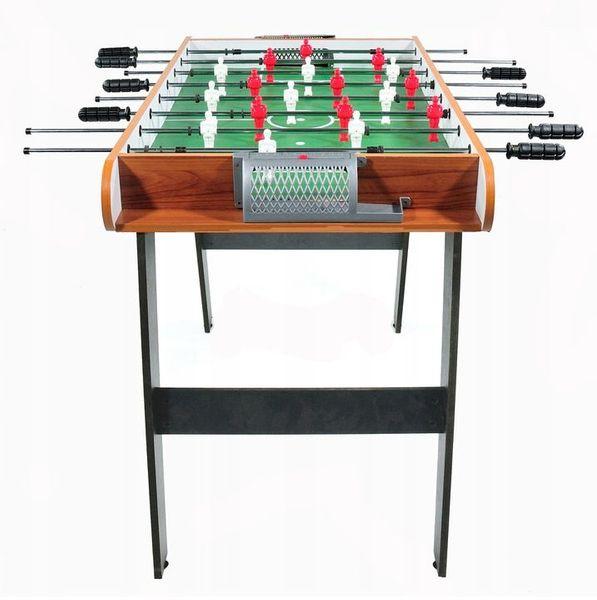Piłkarzyki duży drewniany stół do gry Ecotoys zdjęcie 3