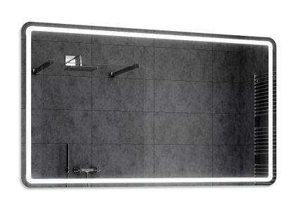 Lustro LED Łazienkowe Podświetlane 140x100 MADRIT