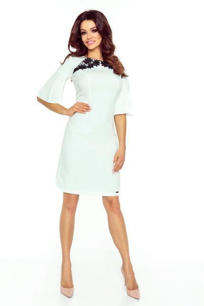 4ba8db5a3f ... 71 12 LISA klasyczna i wygodna sukienka (ecru) Rozmiar - XL zdjęcie 3  ...