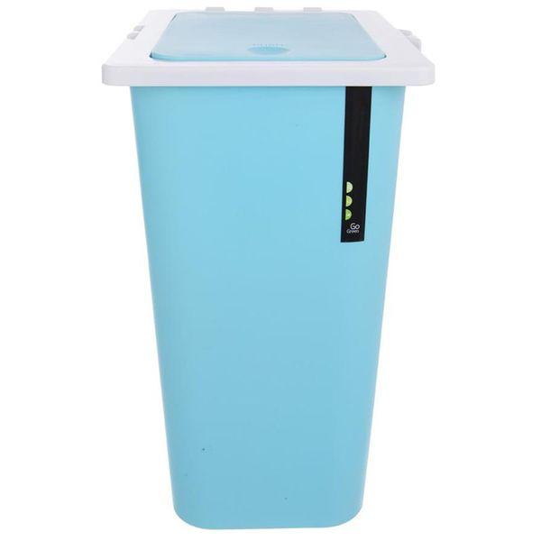 Kosz na odpady śmieci do segregacji POTRÓJNY 3x13L zdjęcie 4