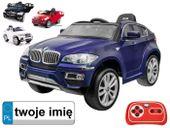 AUTO BMW X6 + KOŁA EVA, PILOT 2,4GHz MP3 PA0056EVA