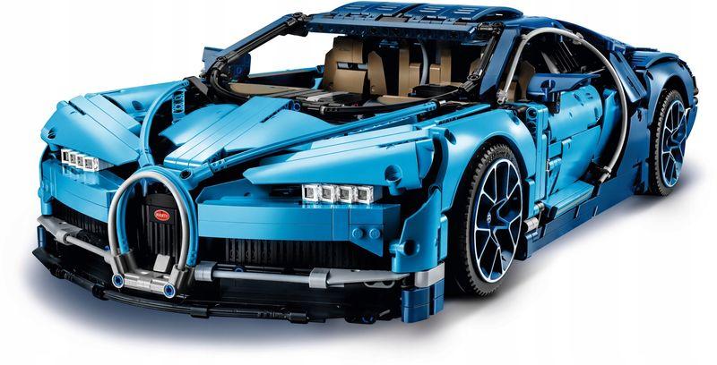 LEGO TECHNIC 42083 Bugatti Chiron zdjęcie 3