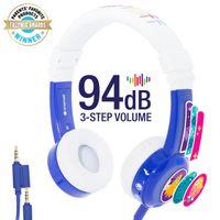 Słuchawki Podróżne dla Dzieci 3+BUDDYPHONES InFlight 75/85/94dB 041131
