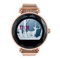Smartwatch Zegarek Damski Dla Kobiet Złoty FUNKCJE