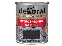 Emalia Antykorozyjna Dekoral (Brąz czekolada połysk, 0.65 L)