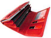Czerwony portfel damski Pierre Cardin PFD10 zdjęcie 3
