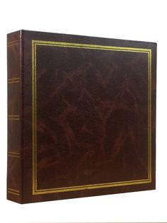 ALBUM, albumy na zdjęcia KPR; 500 zdjęć 10x15 SEGREGATOR brązowy