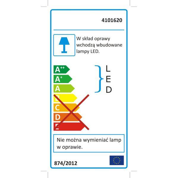 Halogen lampa LED naświetlacz SMD 50W SLIM IP65 6500K-CW zdjęcie 3