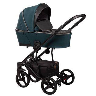 Nowość wózek dziecięcy Novis Baby-Merc 2w1 zielony