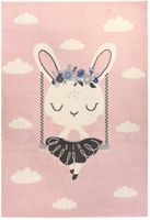 Dywan Carpetforyou Pink Rabbit 80x150 Light Collection