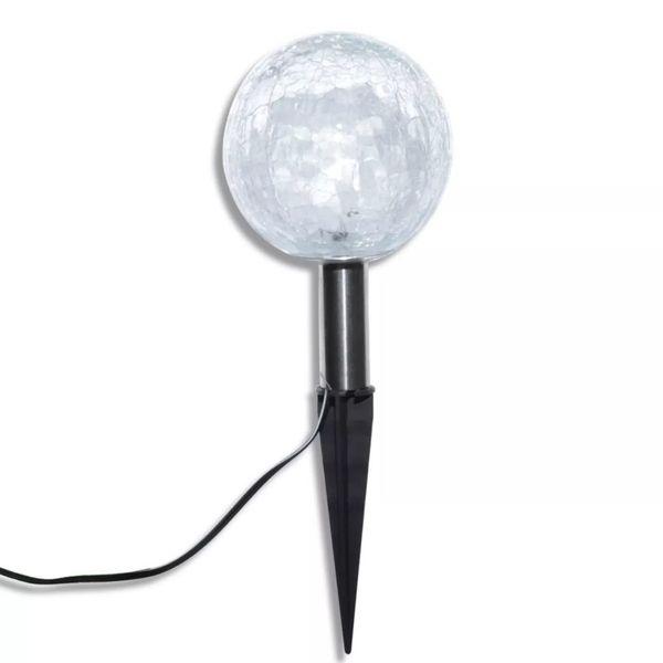 Lampy Ogrodowe Ze Szpikulcami I Panelem Solarnym, 3 Led zdjęcie 5