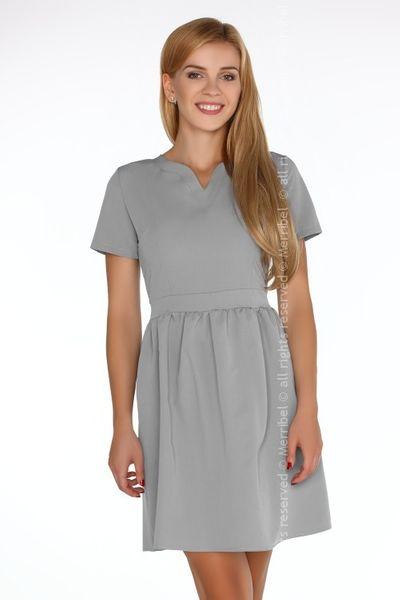 a3799490c8 Elegancka szara sukienka rozkloszowana Merribel XL • Arena.pl