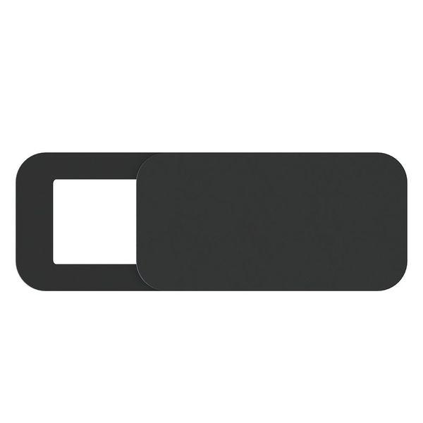 Zaślepka kamerki zasłonka kamery w laptopie, tablecie, telefonie Slider Kolor - Czarny na Arena.pl