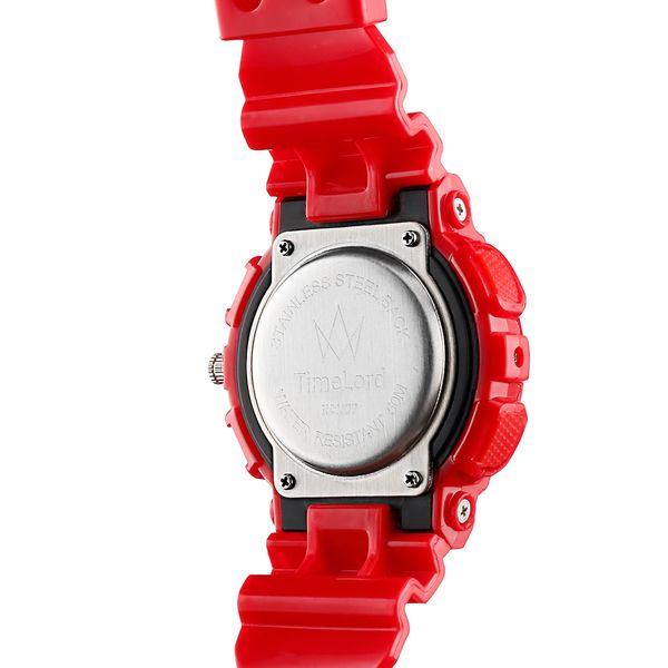 Męski Elektroniczny Zegarek S-SHOCK Trzy Kolory Biały Czerwony Czarny zdjęcie 3