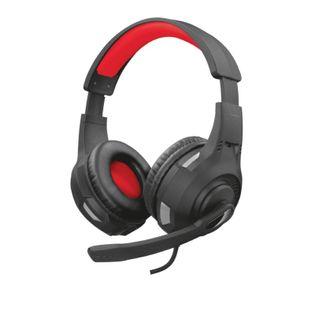 Trust GXT 307 RAVU - Słuchawki dla graczy (Czarny/Czerwony)
