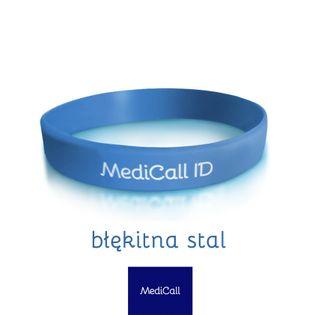 Opaska ICE MediCall dla dorosłych Dorosły Stalowy błękit