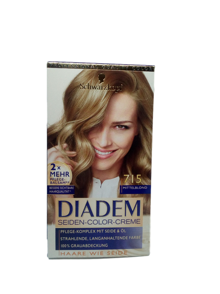 Schwarzkopf Diadem farba średni blond Mittelblond 715 na Arena.pl