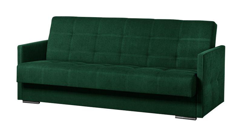 Wersalka Mini Kanapa Zielona Butelka Funkcja Spania Tapczan Sofa Ribes