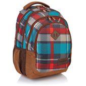 Plecak szkolny młodzieżowy Astra Head HD-97, w kratę