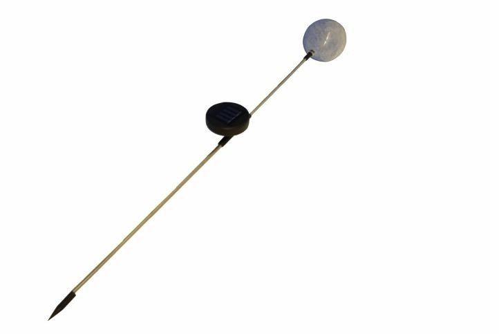 Lampa solarna kolorowa LED w kształcie kuli lampki solarne zdjęcie 7