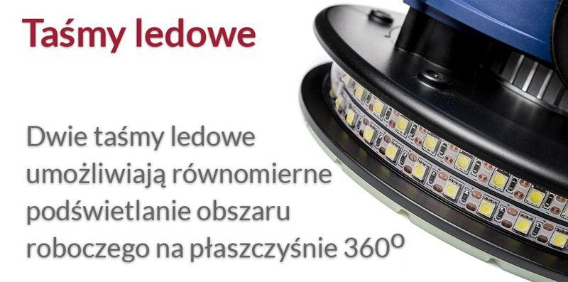SZLIFIERKA DO GIPSU GŁADZI TYNKÓW 1400W PAPIER LED zdjęcie 9