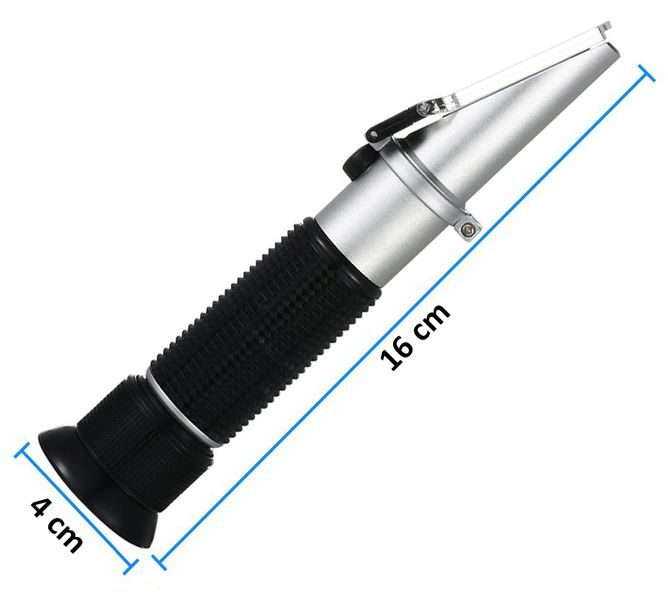 Refraktometr 0-10% Brix ATC chłodziwa emulsji CNC na Arena.pl