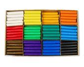 Zestaw przedszkolny plastelina Mona 180 szt 12 kol x 15 szt