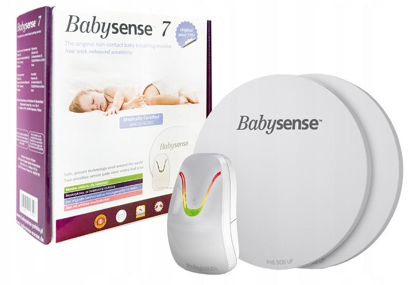 Elektroniczna Niania Babysense Video z monitorem oddechu Babysense 7 zdjęcie 2