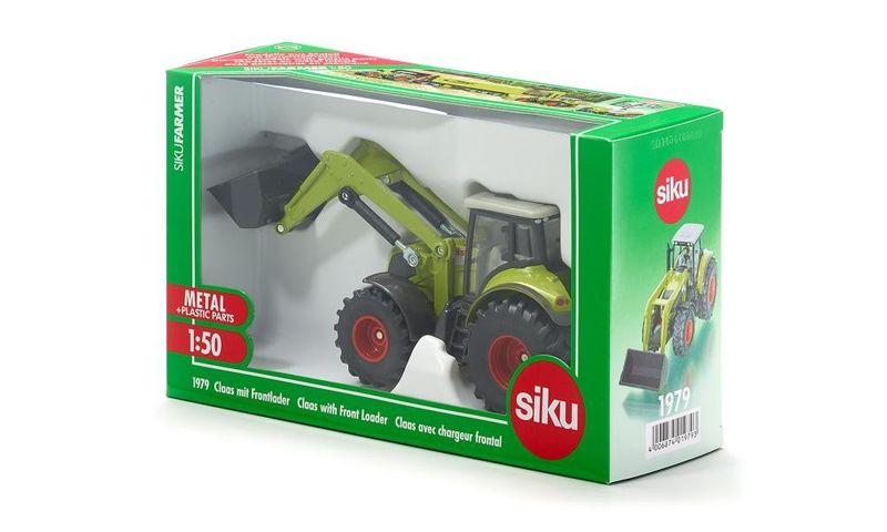 Siku Traktor Class z przednią ładowarką zdjęcie 6
