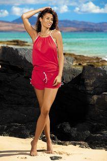 Tunika Leila Anaranjado M-312 Czerwona (291) Rozmiar S