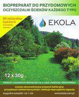 Preparat, bakterie, oczyszczalnia przydomowa, eko szambo na 1rok EKOLA