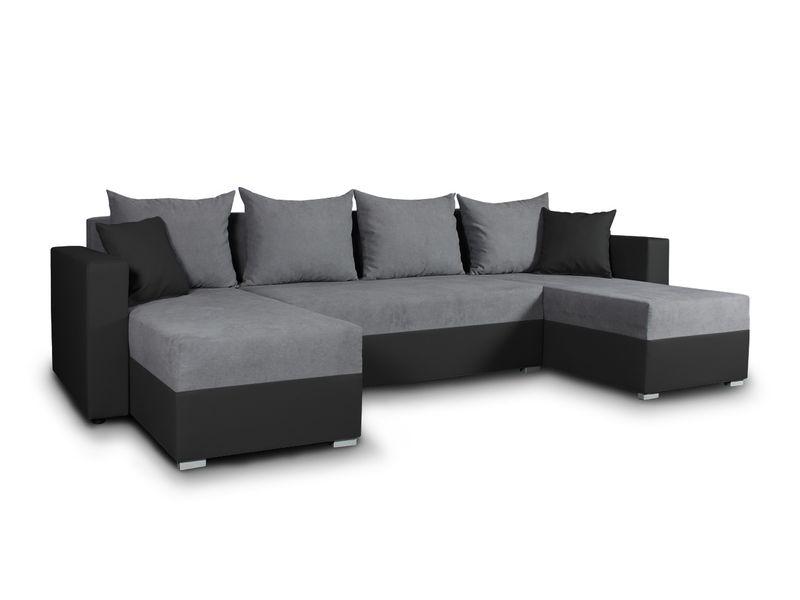 Duży Narożnik Z Funkcją Spania Beno Rogówka łóżko Sofa Kanapa