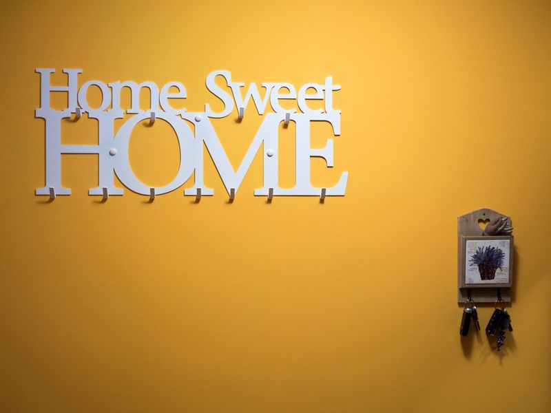 Home Sweet Home XXL wieszak na ubrania, dekoracja pomysł na prezent na Arena.pl