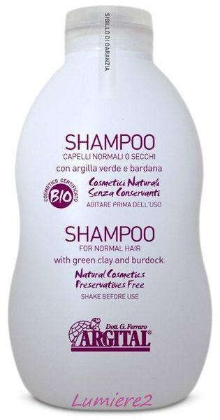 Argital Szampon do włosów normalnych/suchych 500ml zdjęcie 1