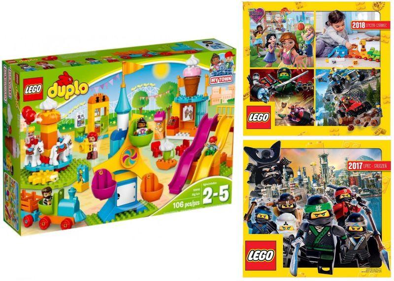 Lego Duplo 10840 Duże Wesołe Miasteczko 2 Katalo Arenapl