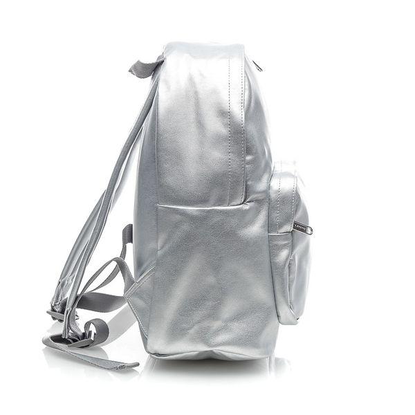 SREBRNY Plecak Reebok Classic BR9432 Boska torba Damski Miejski Modny zdjęcie 1