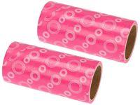 Dwie wymienne rolki do czyszczenia ubrań różowe 41333
