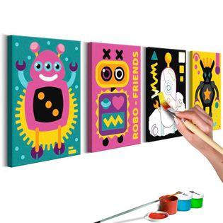 Obraz do samodzielnego malowania - Roboty