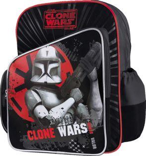 Clone Wars Plecak szkolny Czerwono-Czarny