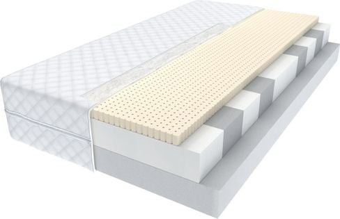 Materac 90x200 lateks wysokoelastyczny MINIOR Wysokość 14cm