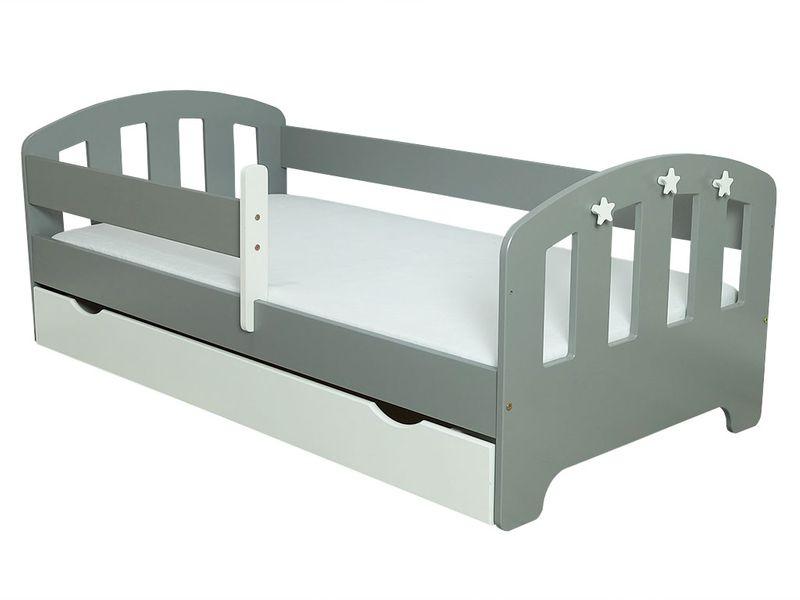 Łóżko FIFI 140x80 + szuflada + barierka zabezpieczająca + MATERAC zdjęcie 15
